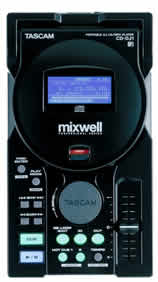 Pocket MP3 player for dj's : tascam teac CD-DJ1