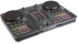 DJ equipment and DJ software – M-Audio Torq Xponent mixing application now shipping