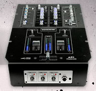 DJ mixing equipment – Mackie d.2 pro and d.4 pro DJ mixers with FireWire